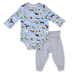 Magnetic Me® by Magnificient Baby Size 0-3M Indognito Bodysuit Set in Blue/Multi