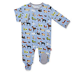 Magnetic Me® by Magnificent Baby Indognito Magnetic Footie in Blue/Multi