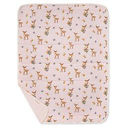 Burt's Bees Baby® Sweet Doe Organic Cotton Reversible Jersey Baby Blanket in Dawn