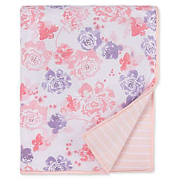 Burt's Bees Baby® Spring Roses Reversible Quilt in Blossom