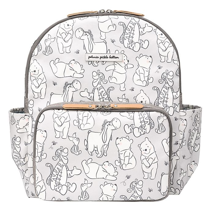 Alternate image 1 for Petunia Pickle Bottom® Disney® District Diaper Backpack in Playful Pooh