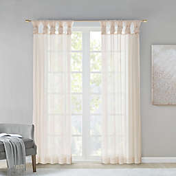Madison Park® Ceres Twisted Tab Voile Sheer Window Pair