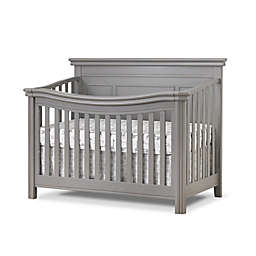 Sorelle Furniture Finley Lux 4-in-1 Convertible Crib in Weathered Grey