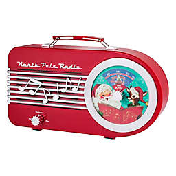 Mr. Christmas® North Pole Vintage Radio in Red