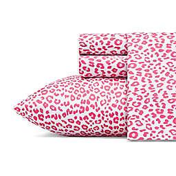 Betseys Leopard Pink King Sheet Set