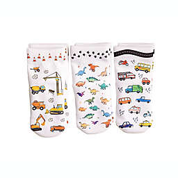 Squid Socks® 3-Pack Cohen Socks in White
