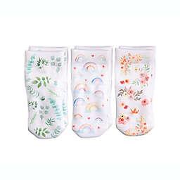 Squid Socks® 3-Pack Chloe Socks in Floral