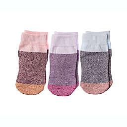 Squid Socks® 3-Pack Chelsea Socks in Pink Multi