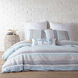 Levtex Home Santander 3-Piece King Duvet Cover Set in Grey/Blue