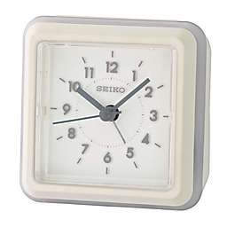 Seiko Gradation Alarm Clock in White