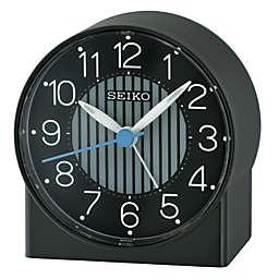 Seiko Bedside Alarm Clock in Black