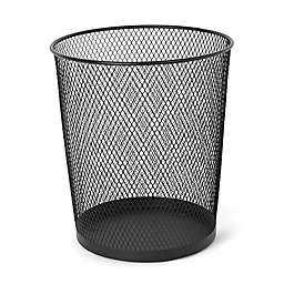 Simply Essential™ Solid Wastebasket in Black