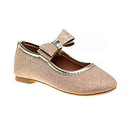 Laura Ashley® Glitter Mary Jane Dress Shoe in Gold