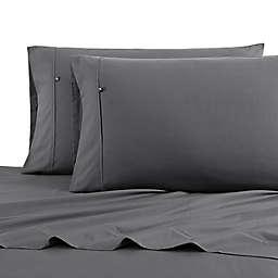 Nautica® Solid Sheet Set in Grey
