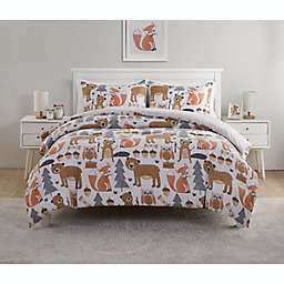 VCNY Home Little Campers 3-Piece Full Reversible Comforter Set