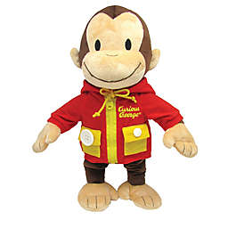 Curious George Learn to Dress Plush Toy