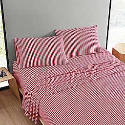 Marimekko® Ajo Queen Sheet Set in Bright Red