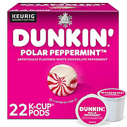 Dunkin'® Polar Peppermint Coffee Keurig® K-Cup® Pods 22-Count