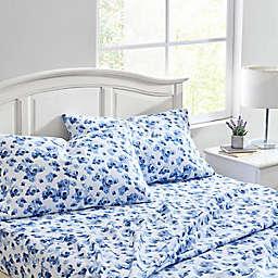 Laura Ashley® Emelisa Flannel Sheet Set