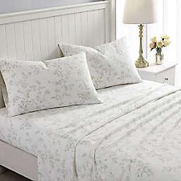 Laura Ashley® Fawna Flannel Sheet Set