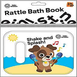 Baby Einstein™ Rattle Bath Book in White