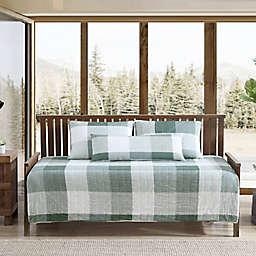 Eddie Bauer® Boulder Plaid Daybed Twin Bonus Set in Evergreen