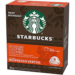 Starbucks® by Nespresso® Vertuo Line Single-Origin Colombia Coffee Capsules 8-Count