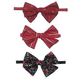 Isaac Mizrahi 3-Pack Bow Headbands