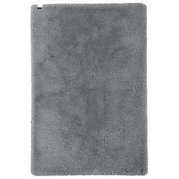 UGG® Aussie 4' x 6' Faux Fur Area Rug in Seal Grey