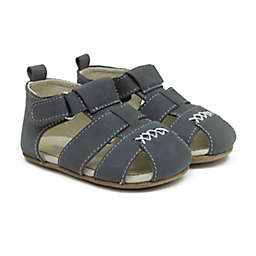 Robeez® Size 18-24M Lucas Sandal in Charcoal