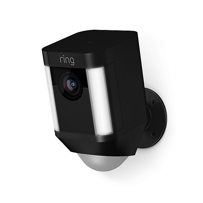Alternate image 1 for Ring Spotlight Battery Operated Security Camera