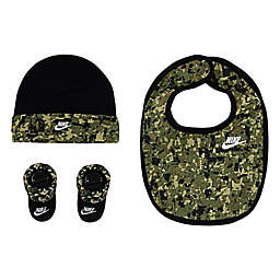 Nike® Jordan® 3-Piece Hat, Bib, and Bootie Set in Camo