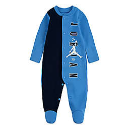 Nike® Jordan® Half Court Footed Coverall in Navy/Light Blue