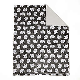 Baby's First by Nemcor® ElephantUltimate Sherpa Baby Blanket