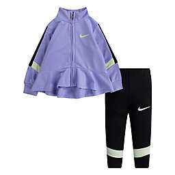 Nike® Size 18M 2-Piece Tricot Trophy Tracksuit Set in Purple