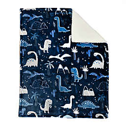 Baby's First by Nemcor® DinosaurUltimate Sherpa Baby Blanket