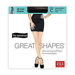 No Nonsense® Size C 3-Pack All Over Shaper