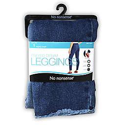 No Nonsense® Medium Frayed Denim Legging