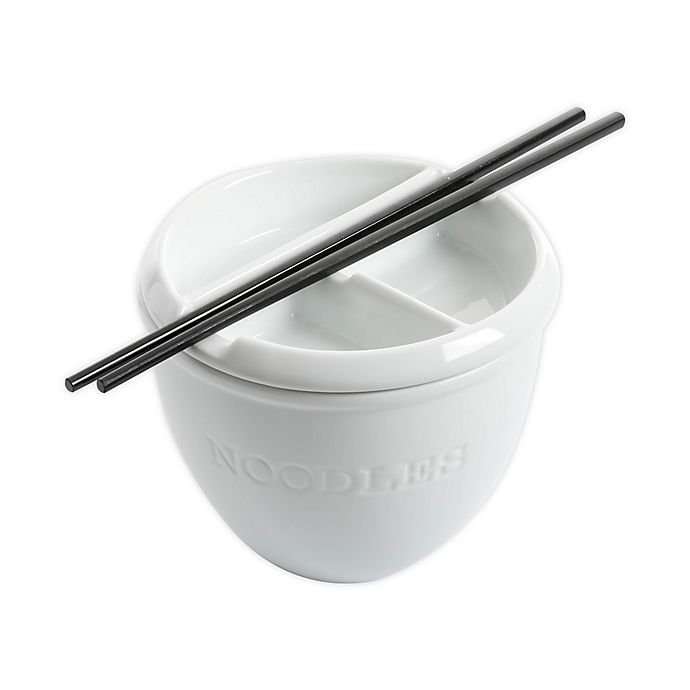 Alternate image 1 for Our Table™ Simply White Noodle Bowl