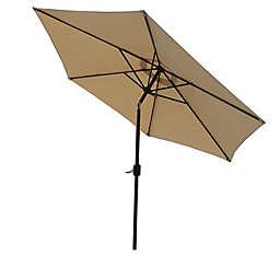 Boyel Living 9-Foot Outdoor Market Umbrella in Beige