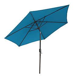 Boyel Living 9-Foot Outdoor Market Umbrella in Blue