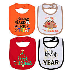 Baby Starters® 4-Pack First Holidays Bibs