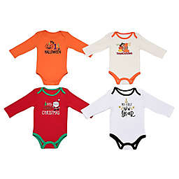 Baby Starters® 4-Pack See Me Grow Bodysuits