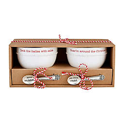 Mud Pie® 4-Piece Guacamole and Salsa Dip Bowl Set in White