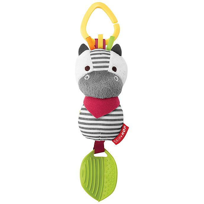 Alternate image 1 for SKIP*HOP® Zebra Bandana Buddies Chime & Teether Toy