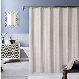 Ellen Tracy® 70-Inch x 72-Inch Monte Carlo Shower Curtain in Taupe