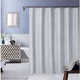Ellen Tracy® 70-Inch x 72-Inch Monte Carlo Shower Curtain in Silver