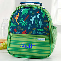 Dino Embroidered Lunch Bag by Stephen Joseph