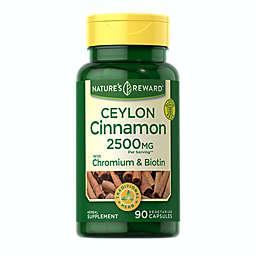 Nature's Reward™ 90-Count Ceylon Cinnamon 2500 mg Vegetarian Capsules
