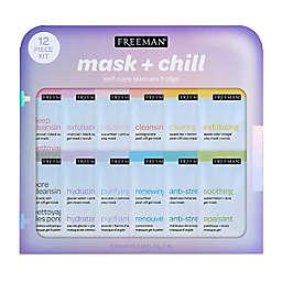 Freeman® 12-Piece Mask + Chill Self-Care Skincare Fridge Kit